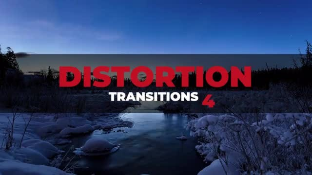 Distortion Transitions 4: Premiere Pro Presets