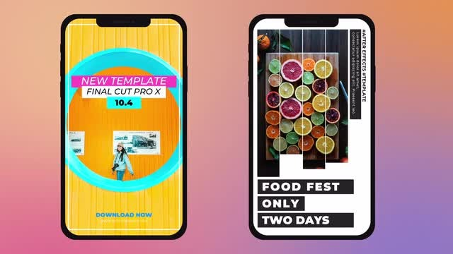 Modern Instagram Stories: Final Cut Pro Templates