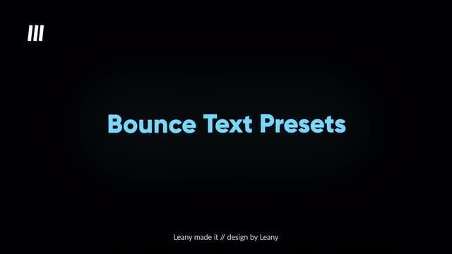 Bounce Text Animations: Final Cut Pro Templates