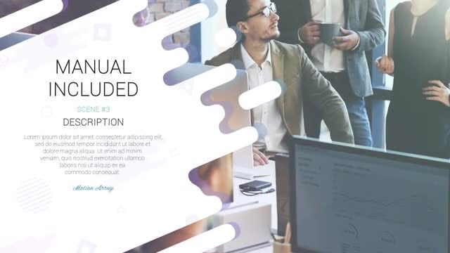 Modern Corporate Slides: After Effects Templates