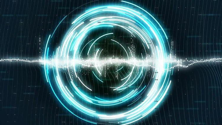 Rotating Sci-fi Circles: Stock Motion Graphics