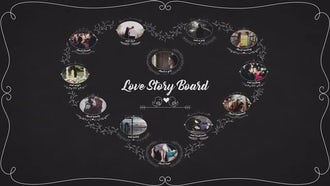 Love Story Board: After Effects Templates
