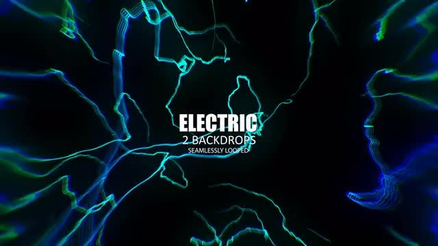 Electric Lights: Stock Motion Graphics