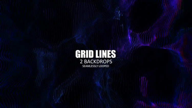 Grid Lines: Stock Motion Graphics
