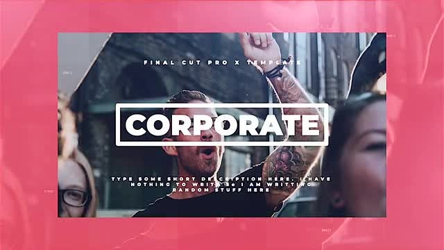 Corporate: Final Cut Pro Templates