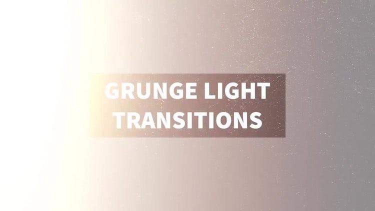 Grunge Light Transitions: Motion Graphics
