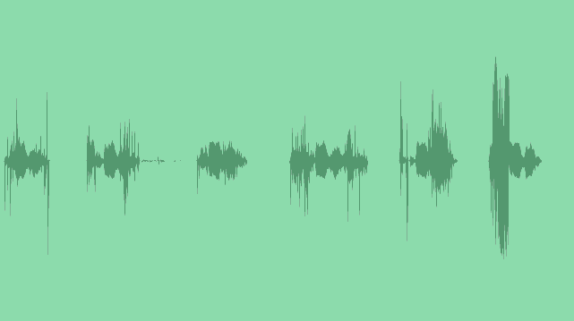 High Tech Infographic Pack: Sound Effects