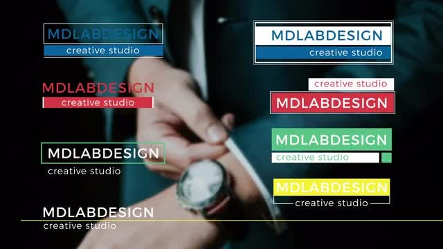 Positive Colorful Lower Thirds: After Effects Templates
