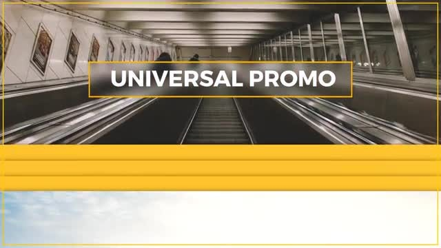 Universal Promo: After Effects Templates