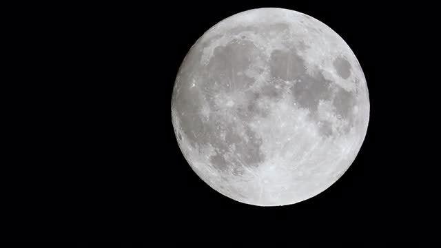 Full Moon: Stock Video