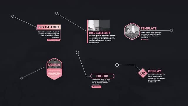 Big Callout Titles V2: After Effects Templates
