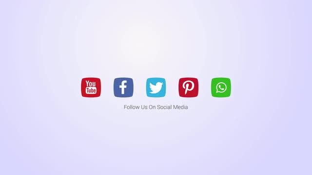 Social Media Logo Opener: After Effects Templates