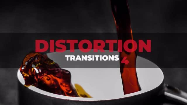 Distortion Transitions 4: After Effects Presets