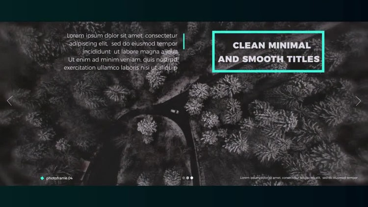 Inspiration Slideshow: After Effects Templates