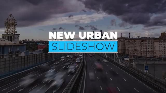 New Urban Slideshow: Final Cut Pro Templates