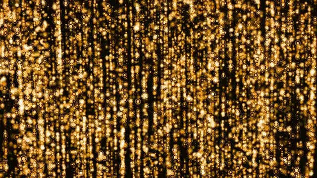 Golden Circles Rising: Stock Motion Graphics