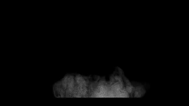 Dust Impact 01: Stock Video