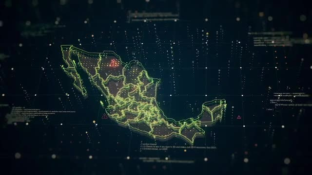 Maps Of Mexico: Stock Motion Graphics
