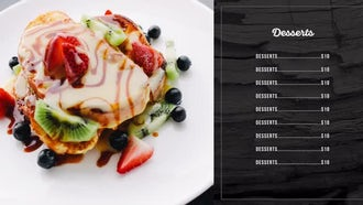 Restaurant Promo: Premiere Pro Templates