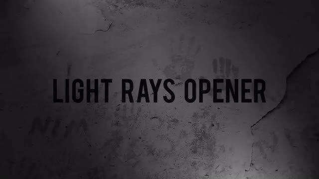 Light Rays Opener: Premiere Pro Templates