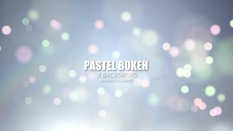 Pastel Bokeh: Stock Motion Graphics