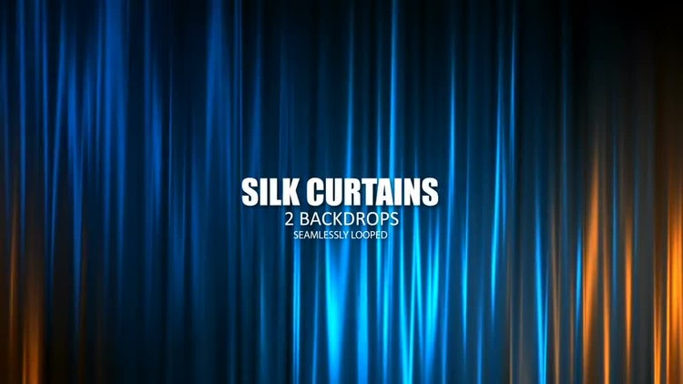 Silk Curtains: Stock Motion Graphics
