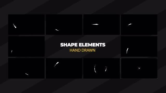 Shape Elements: Motion Graphics Templates