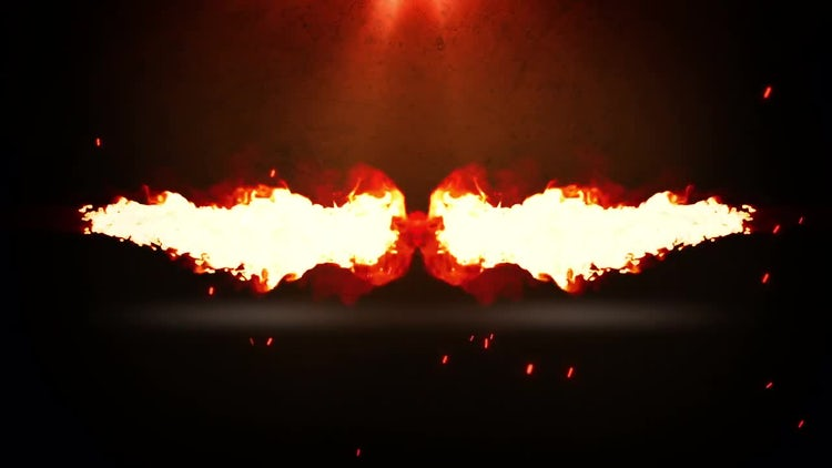 Burnable Logo: After Effects Templates