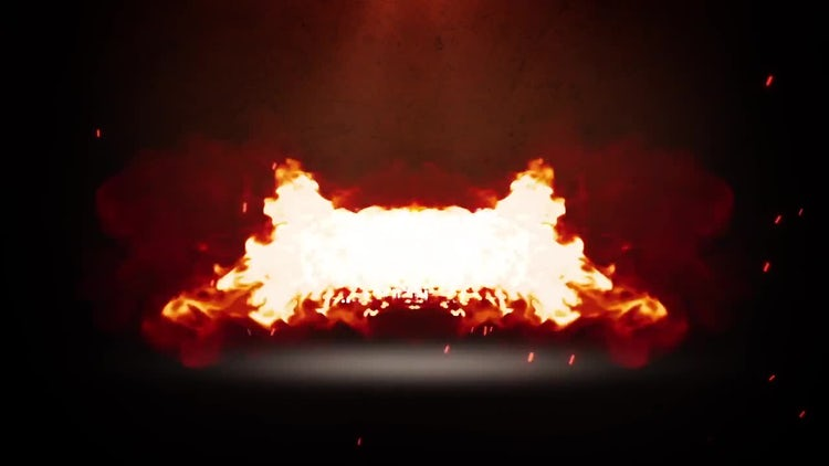 Burnable Logo: Premiere Pro Templates