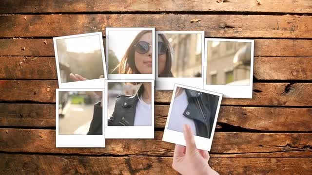Polaroid Gallery: After Effects Templates