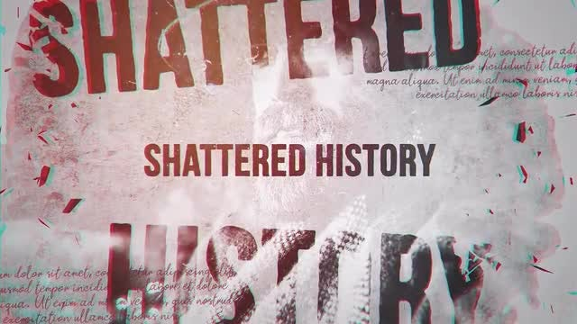 Shattered History: After Effects Templates