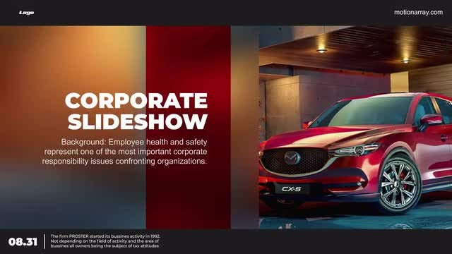 Corporate Slidehow: After Effects Templates