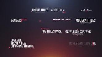 14 Simple Titles: Premiere Pro Templates