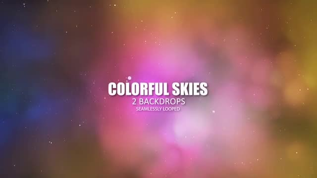 Colorful Skies: Stock Motion Graphics