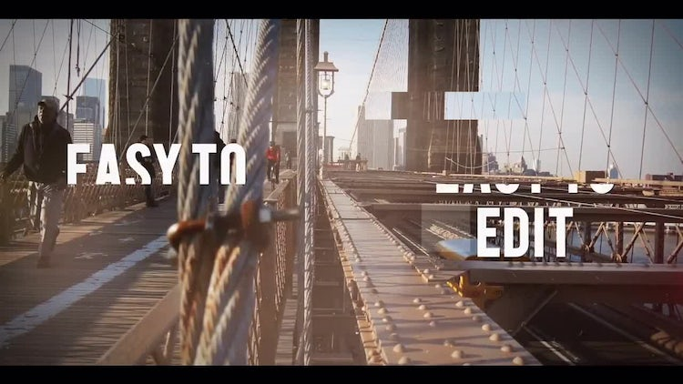 Glitch Promo Opener: After Effects Templates