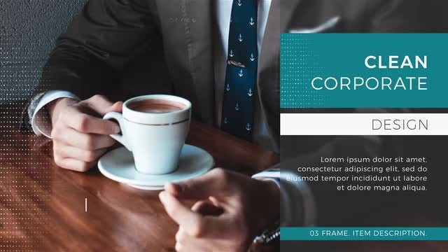 Corporate Startup Promo: After Effects Templates