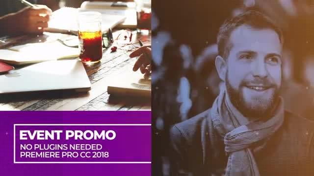 Modern Event Promo: Premiere Pro Templates