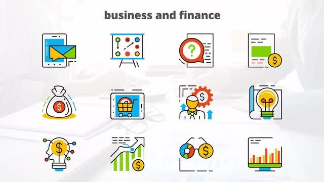 Business - Flat Animated Icons: After Effects Templates