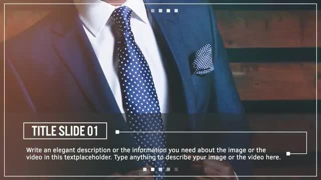 Minimal Slideshow: Final Cut Pro Templates