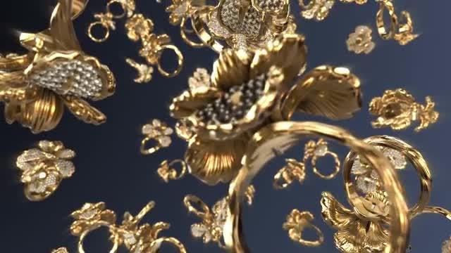 Flower Rings: Stock Motion Graphics