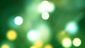 Shimmering Bokeh: Motion Graphics