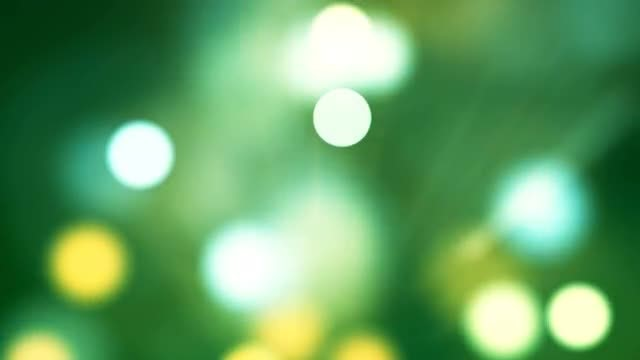 Shimmering Bokeh: Stock Motion Graphics