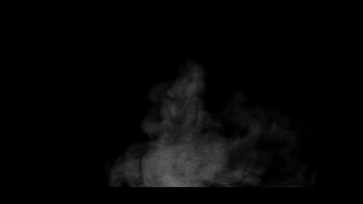 Dust Impact 04: Stock Video