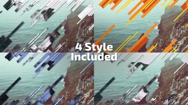 Stripes Transitions: Premiere Pro Templates