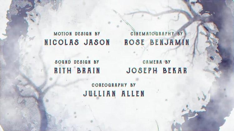 Cine Credit V.4: After Effects Templates