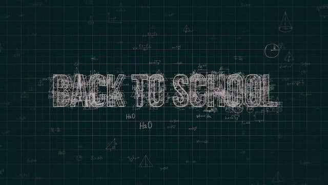 Mathematical Formulas Pack: Stock Motion Graphics