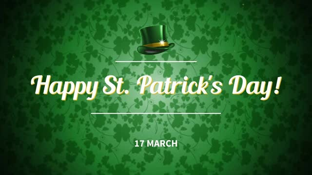 St. Patrick's Day: After Effects Templates