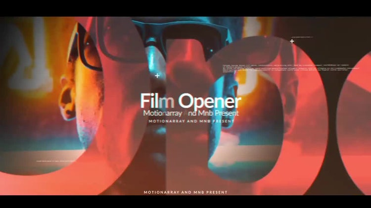 Abstract Film Opener: After Effects Templates
