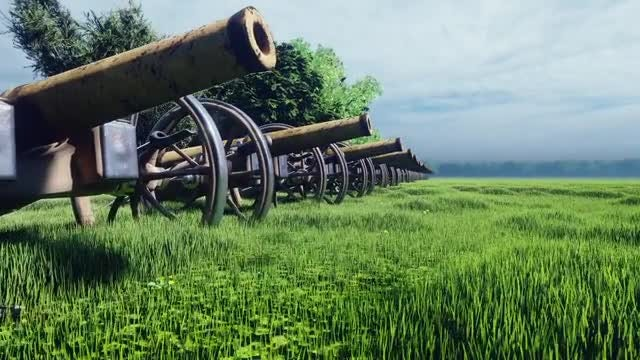 Cannons: Stock Motion Graphics