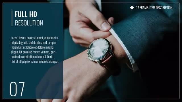 Clean Corporate Presentation: Premiere Pro Templates